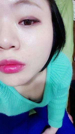 Make up,覺得化得不錯 Makeupmake 眼妝 粉紅