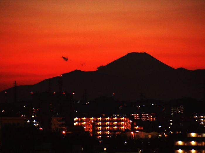 夕暮れ Twilight Mt.Fuji Landscape