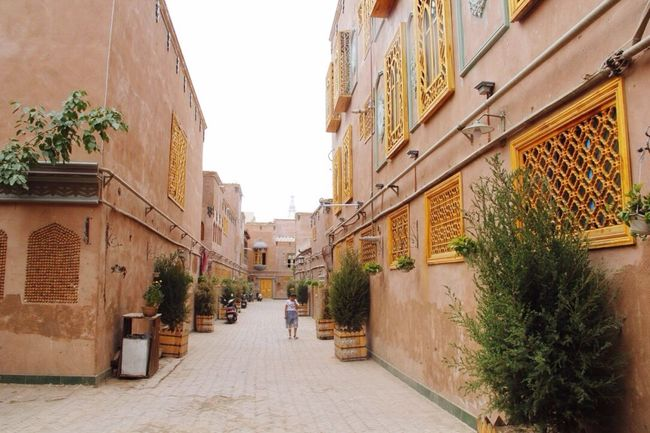 Cityscapes Kashgar