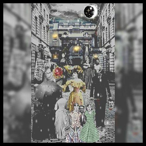 Victorian Collage Digitalcollage Digitalcomposite Digitalart  Darkart Victorian London Conceptual Photography  Digitaledit Conceptualphotoedits Photomanipulation Editjunkie Conceptualart