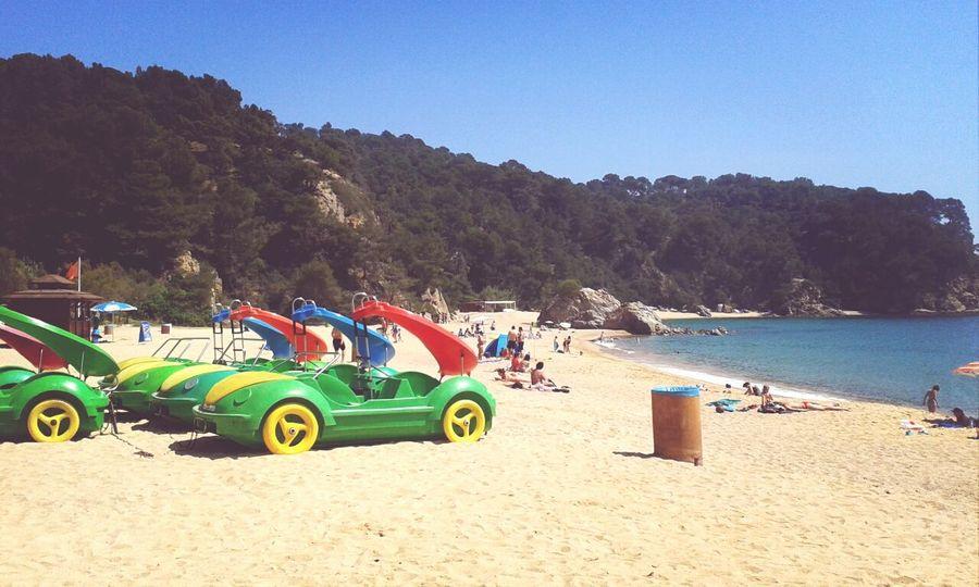 Sunny day in Cala Canyelles Sunny Sunny Day Beach Beach Photography