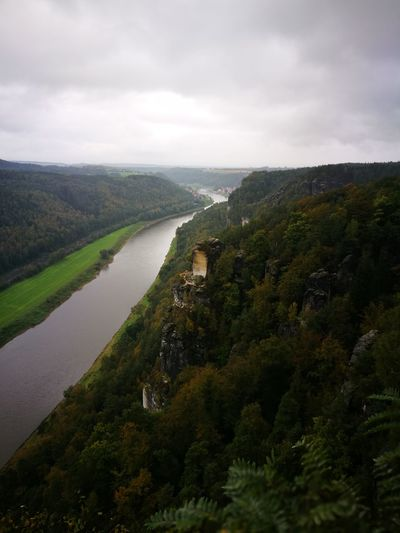 Sächsische Schweiz/Fluss Elbe Water Nature Outdoors Landscape
