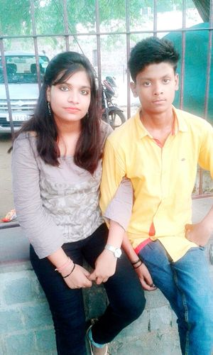 EyeEm Best Shots Me With My Brother Kartik... .........('-'(