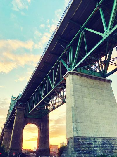 Architecture Built Structure Sky Low Angle View Bridge Bridge - Man Made Structure Summer Road Tripping