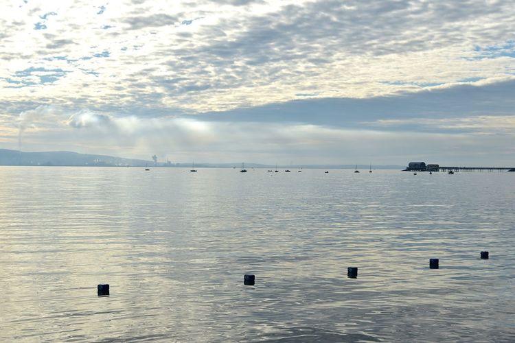Taking Photos Seaside Architecture Silhouette Smoke Plumes Industry Nikon D5500