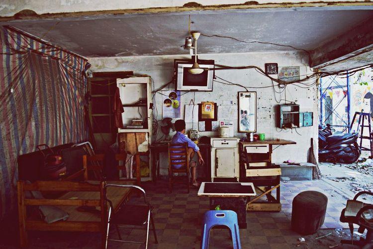 Empty House.