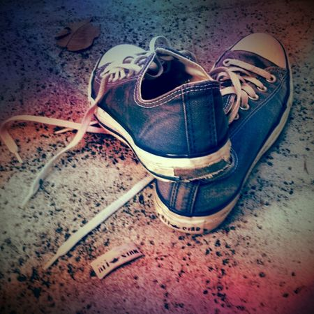 My Chucks  Torn Up