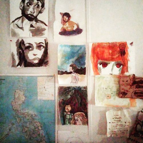 The artist wall