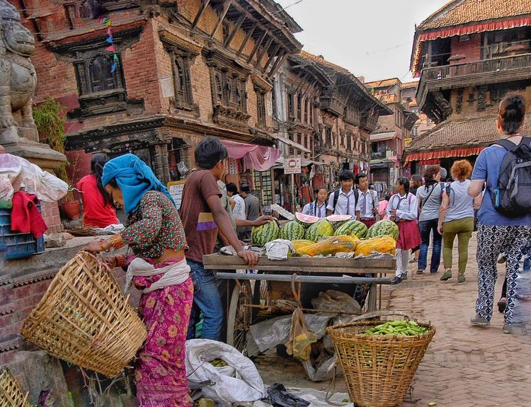 Nepal - one year ago before the earthquake . Outdoors Famous Place Perspective Popular Photo Popular Travel Destinations Popular Photos Popularphoto Popularphotos Nature Photography Architecture Built Structure Colorful Cultures The Street Photographer - 2016 EyeEm Awards