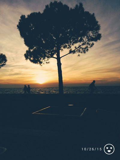 Nea Paralia Thessalonikis Sunset Light And Shadow Amazing Colors