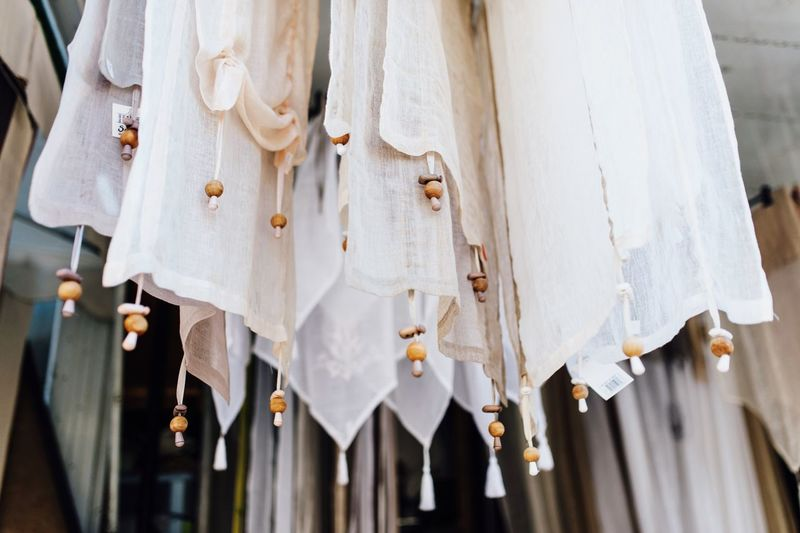 Outdoor Market EyeEm Selects White Color Clothing Hanging Textile Fashion No People Still Life Close-up