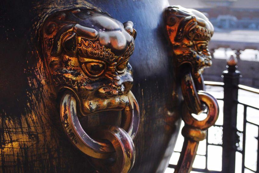 Close-up Metal No People Indoors  Sculpture Day