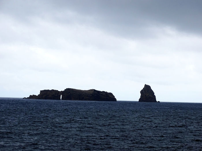 Azores Atlantic Ocean Sea Beach Sea Life Rock - Object Sand Harbor Coastal Feature Sky Horizon Over Water Landscape Geology Volcanic Rock Volcanic Landscape