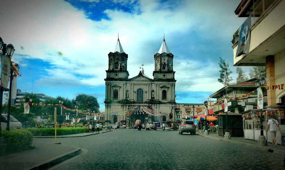 Holy Rosary Parish Church. Adapted To The City Church Buildings Cultural Heritage Vintage P9LitePhilippines