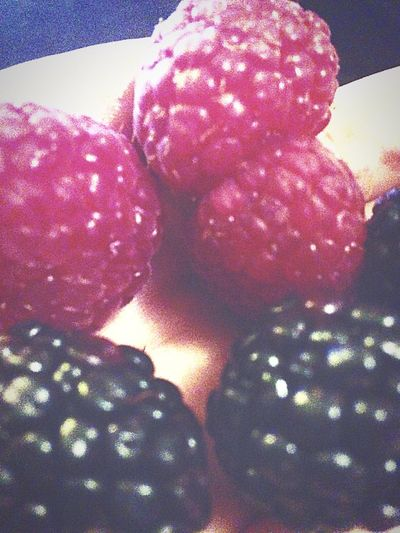 Framboise Mûre 😊 Hello World Fruits