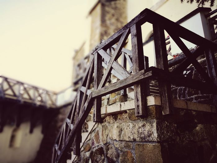 Architecture Built Structure Low Angle View No People Outdoors Sky Day Building Exterior Close-up Medieval Medieval Architecture Medieval Castle Stairs Staircase
