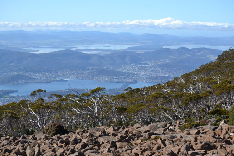 Hobart Landscape Long Distance  Mt Wellington, Hobart, Tasmania Tasmania Mountain Mountain Range Rocks Nikon Beauty In Nature Outdoors No People Scenics Remote MariNelson The Great Outdoors - 2017 EyeEm Awards Lost In The Landscape