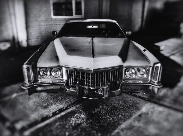 Cadillac Classic Cadillac Eldorado Bad Honnef Bonn Oldtimer Convertible Black & White Cadillac Retro Vintage Cars Morlock Motors Big Block Highway Highway 1 Route 66 Born In The USA  USA Selective Focus Retro Styled No People Mode Of Transportation Car Motor Vehicle Close-up Still Life Old Land Vehicle High Angle View