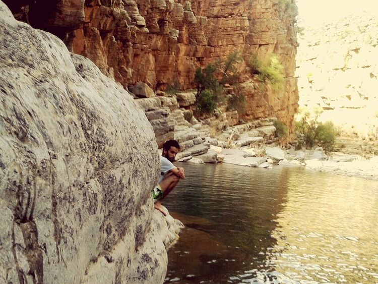 Alone Into The Wild Paradise Valley..😁 In Morroco.. Paradise