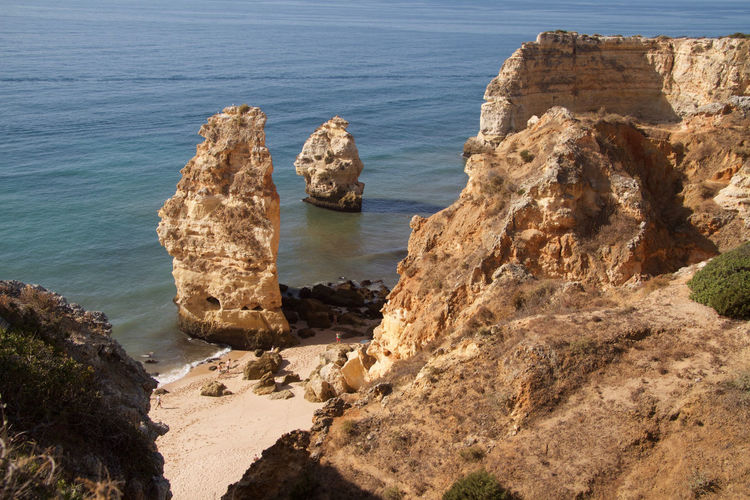 Algarve Portugal Beach Beach Photography Beauty In Nature Plage Soleil Portugal Praia Da Marinha Tourist Attraction