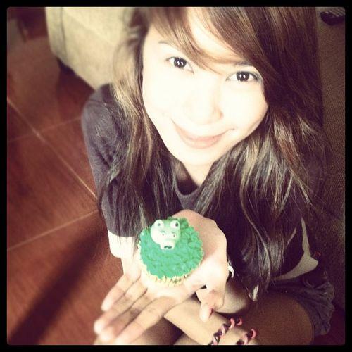 Piggy cupcake :D Haggarddays Messyhair