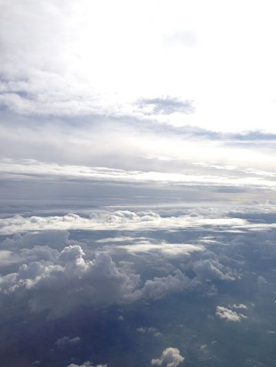 Airplane Beauty In Nature Cloud - Sky Clouds And Sky Clound Day Heaven Nature No People Outdoors Scenics Sky Sky And Clouds Sky_collection Skylovers Tranquility