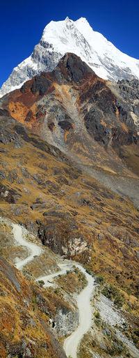 Canon Alpine Beauty In Nature Glacier Huandoy Huascaran Landscape Landscape_Collection Landscape_photography Mountain Non-urban Scene Peak Peru Peruvian Scenics Tranquil Scene Travel Traveling Trek Trekking