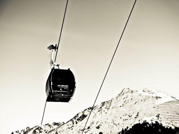 Arlberg Skiing Winter Alps Stanton