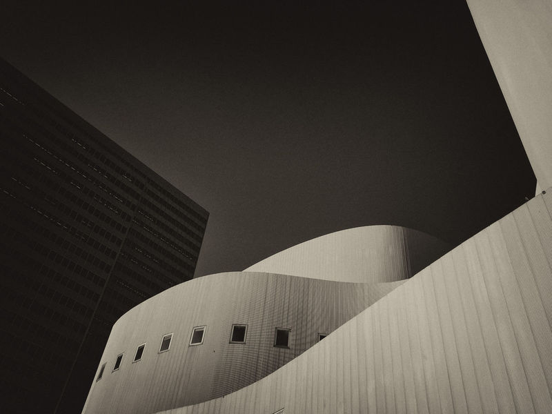 Architecture Day Evening Sun IPhoneography No People Schauspielhaus Sepia Photography Minimalist Architecture