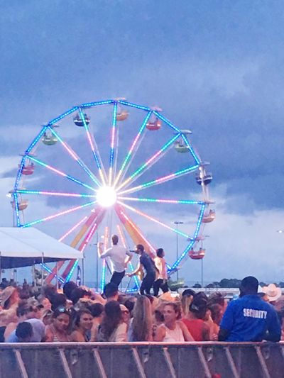 Music Brings Us Together Lady Antebellum Country 500 Country Music Ferris Wheel Daytona Beach