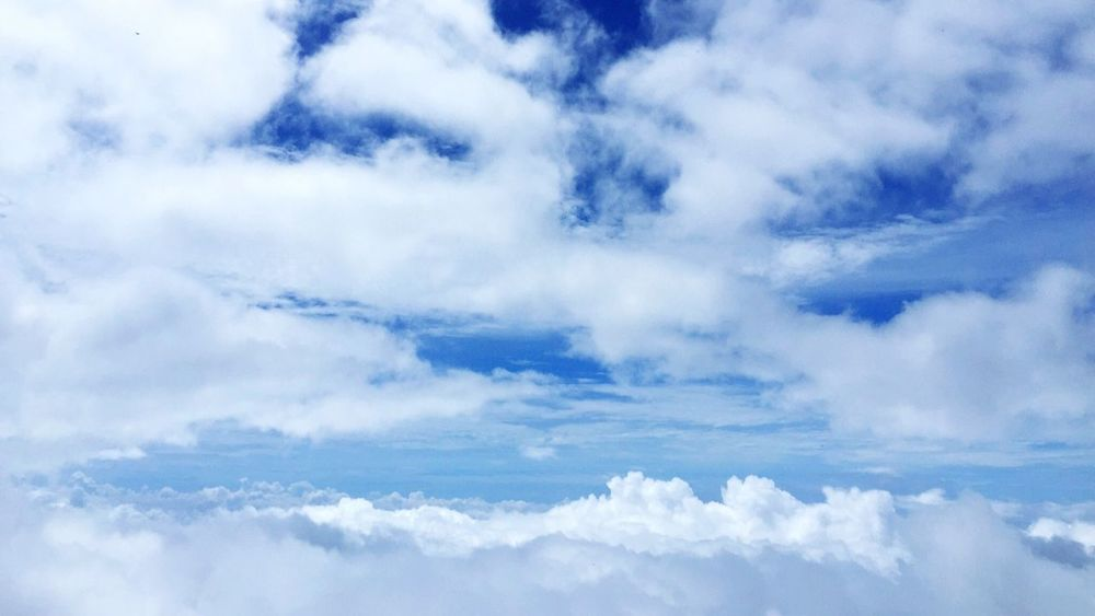 Clouds And Sky Clouds Sky Blue Sky Bluesky Heaven Heaven On Earth Flying On The Mountain Amazing View Top View Viewpoint Thailand Top Of The Mountains Highlands Freedom Feel Free Freshair Bright Day Bright Sky Breathtaking Original Experiences