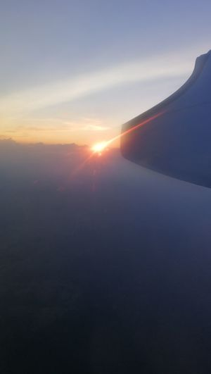 Sunset Outdoors Sun Scenics Sunlight No People Landscape Nature Beauty In Nature Sky Day From The Plane Window From My Point Of View No Edit/no Filter The Week On EyeEm