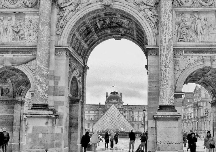 Louvre. Paris. Photo by my love edited by me. Happy Weekend! God Bless!