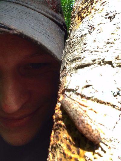 Slug selfies ... Me :)  On A Hike Nature IPhone Photography Slug Slug Life Streamzoofamily IPhoneography EyeEm Nature Lover Nature_collection