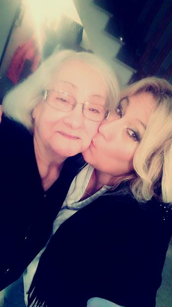 My Mum ♥  Two People Togetherness Women Family I Love My Mum😘 2017 New Year Young Adult Portrait Happiness Night Nightlife Adults Only Heterosexual Couple Smiling Fun Headshot People Adult Cheerful Business Finance And Industry Men Eyeglasses  Friendship
