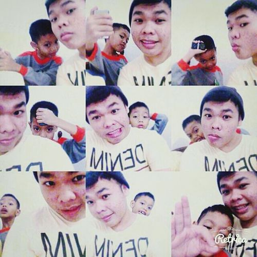 The moment selfieying w/ my broda be like . . . Cheese! First Eyeem Photo