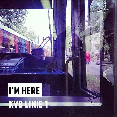 I'm tram'ng... #KVB #Linie1 #Köln Köln Kvb Linie1