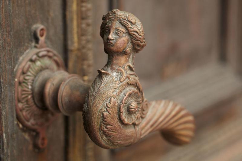 Ancient Architecture Brass Detail Door Doorway Enter Entrance Estonia Front Handle Home House Interior Key Lock Metal Old Open Safety Vintage