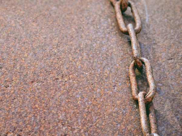 EyeEm Selects EyeEm Selects No People Day Strength Close-up Outdoors Chain Rost Rosty Metal Texture Background Wallpaper Rosted