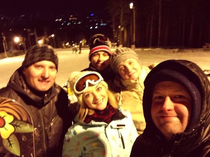 Snowboarding Uktus Snow Friends