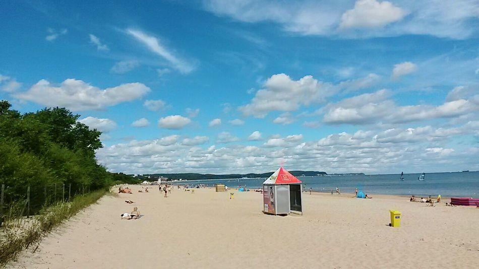 Pologne Poland Sopot Beach Plage