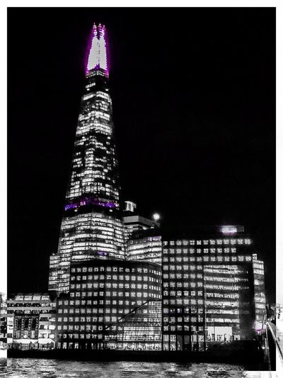 Purple Topper Architecture ShotOnIphone IPhone X IPhone Mobilephotography IPhoneography IPhone Architecture Night Tall - High Tower Illuminated Building Exterior Travel Destinations Built Structure Skyscraper Travel Tourism Modern Low Angle View City Outdoors Urban Skyline Clear Sky Sky Cityscape No People