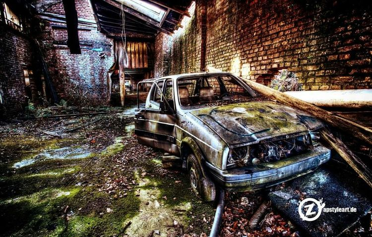 Lost car :) follow me Check This Out HDR Hdrphotography Urbex Lostplace Lost Places Verlassene Orte Lostplaces Lost Lost Place