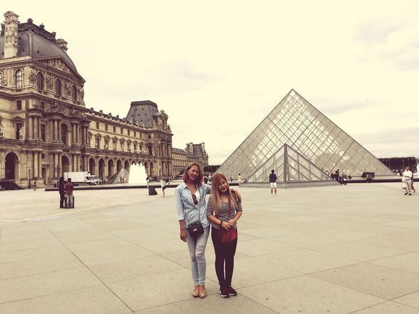 Louvre Architecture Building Exterior Tourism Famous Place City Travel Lifestyles Louvre Museum Louvre Pyramid