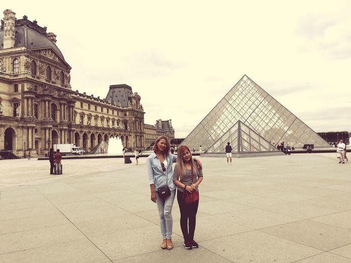 Louvre Architecture Building Exterior Tourism Famous Place City Travel Lifestyles Louvre Museum Louvre Pyramid