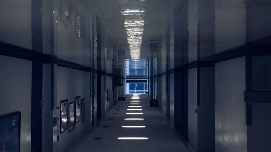 Dark Architecture Corridor Day Hallways Indoors  No People The Way Forward EyeEmNewHere