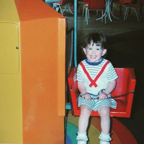 Throwbackthursday  to when I was a Littlesailorgirl with a cheesier grin than I have now Childhood Memories Throwback Kid Cute Messykid Innocence Youth Wishistillhadthatshirt