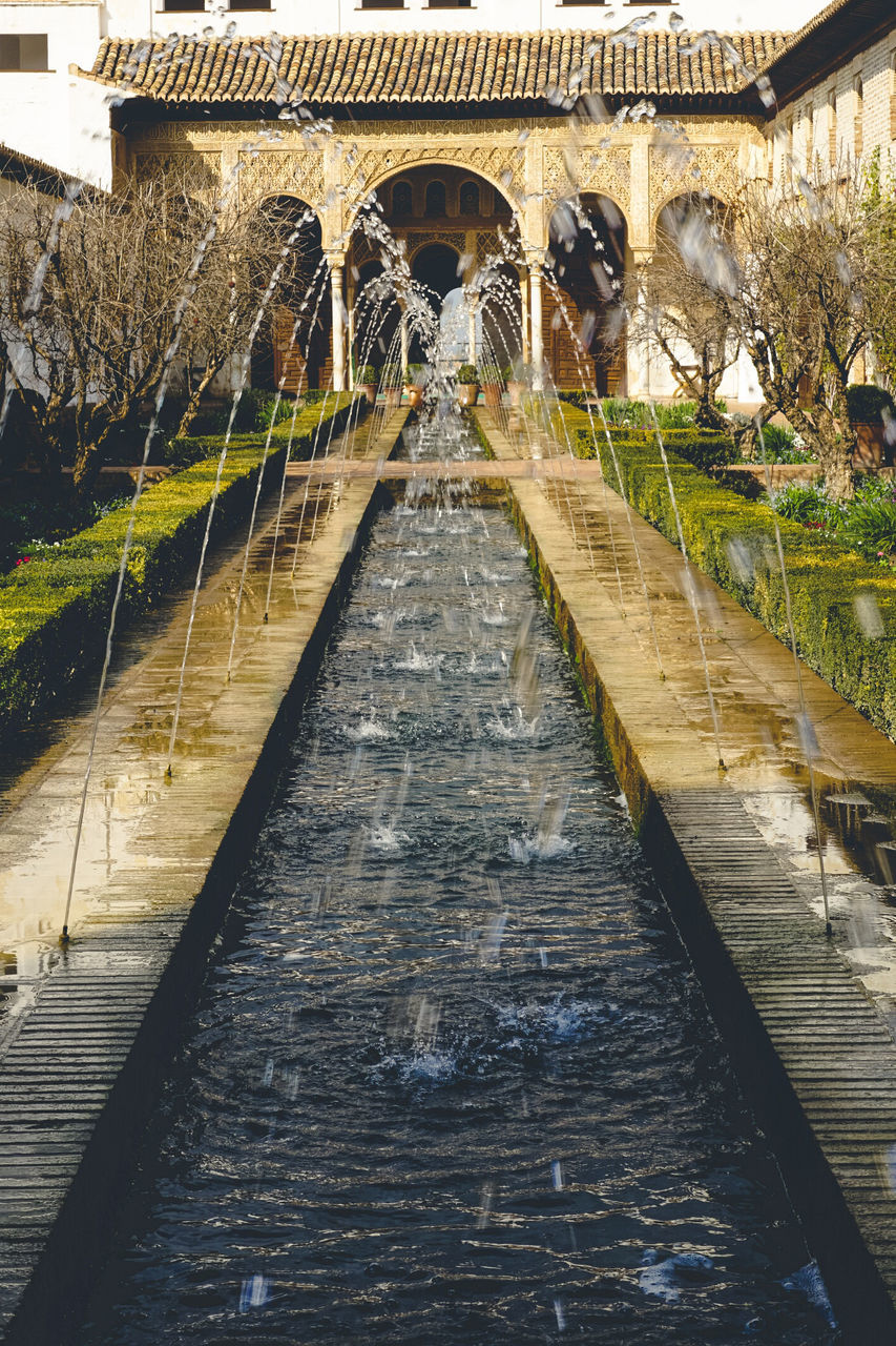 architecture, built structure, water, bridge - man made structure, building exterior, arch, day, outdoors, no people, nature
