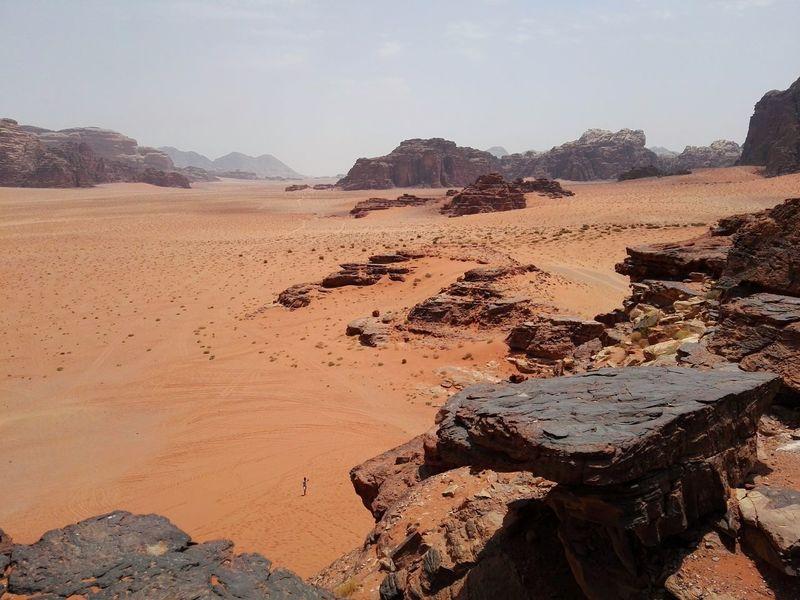 Wadi Rum National Park, Jordan Desert Beauty Desert Desert Landscape Hills And Valleys Smartphone Photography