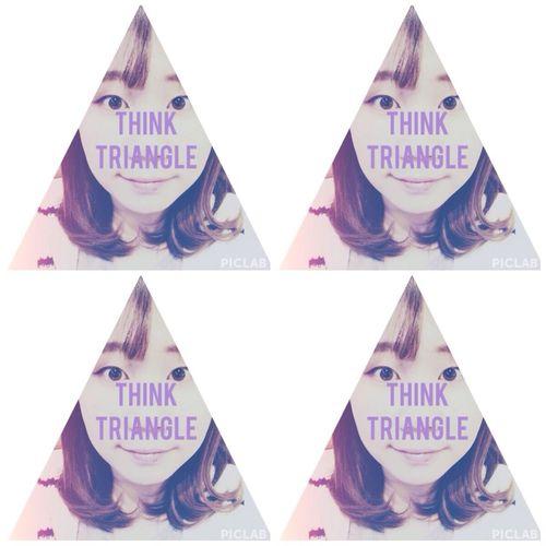 4 Triangle (^O^) all pointed 'a' Triangle!